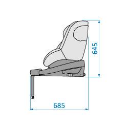 Beryl Side upright Specifications