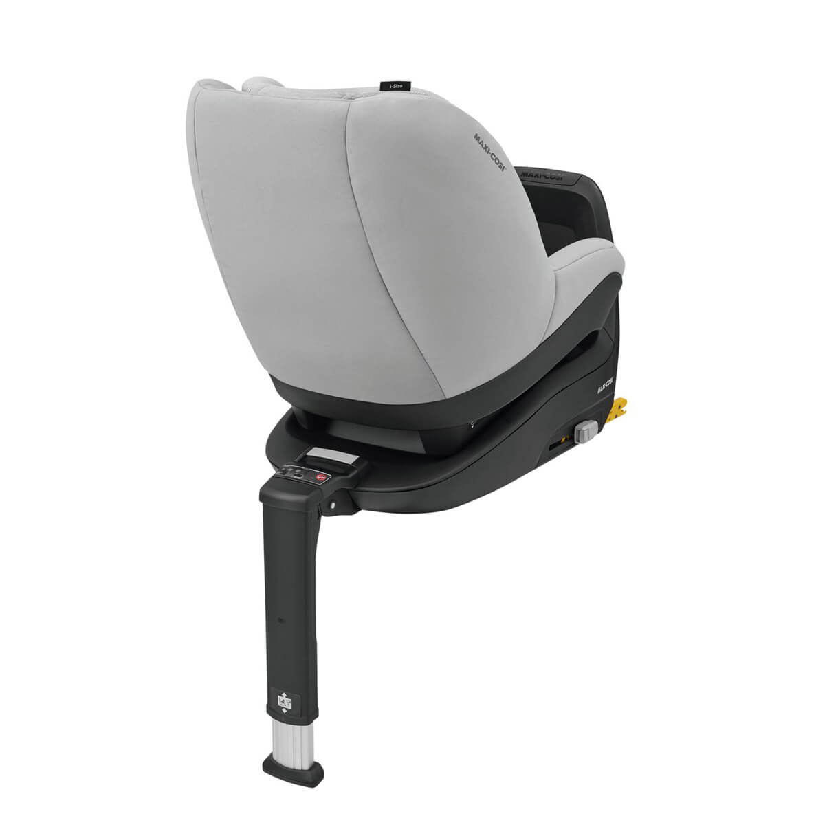 Rearward-facing travel up to 105 cm (approx. 4 years) for enhanced protection of head and neck